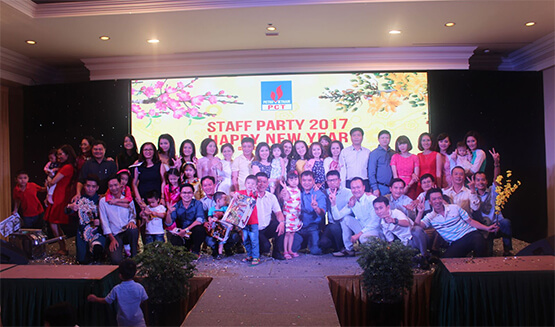 Staff Party Công ty PCT