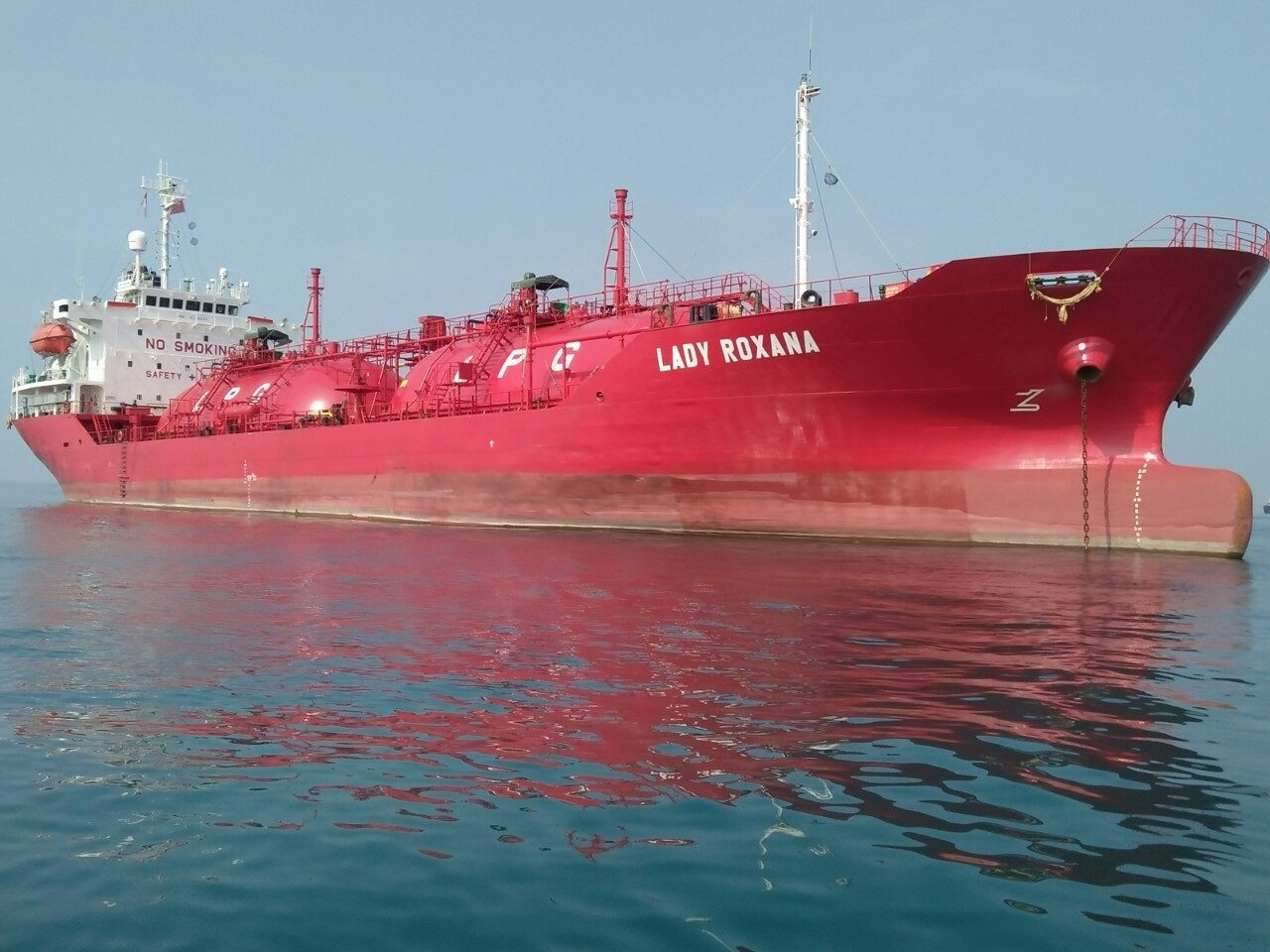 Lady Roxana; Gas Carrier; 4999 DWT