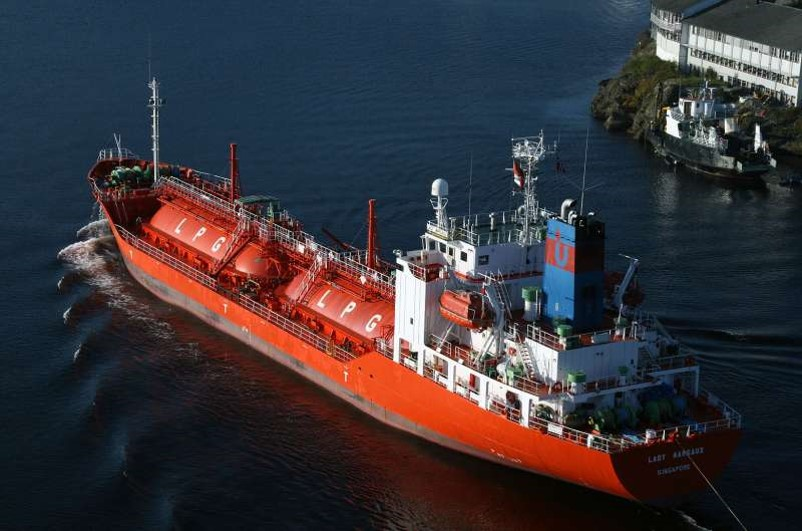 LADY Margaux; Gas Carrier; 4187 DWT